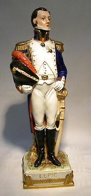 """Scheibe-Alsbach   9.3/4"""" Napoleonic Military Soldier  Figure Lepic"""