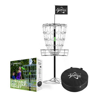 NEW Prodigy Disc Golf Portable Basket w/ Carry Case