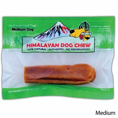 Himalayan Yaky Original Green Medium 2.25 oz | Natural Chew for Dogs under 35 lb