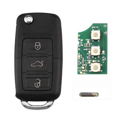 3 Buttons 434MHz 48 Chip 1K0 959 753 G Remote Key for SKODA Octavia 2004-2010