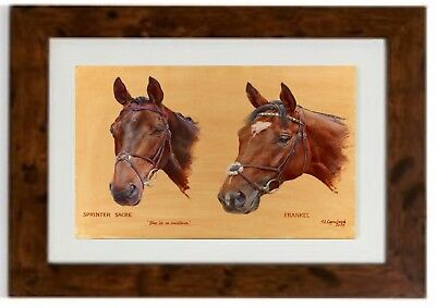 """*NEW SIZE /""""We Three Kings/"""" Framed print by Susan Crawford **LARGER SIZE **"""