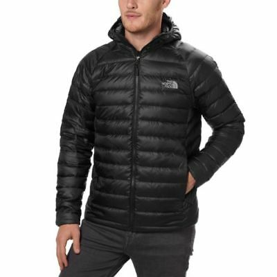 The North Face Trevail Hooded Mens Jacket Down Tnf Black