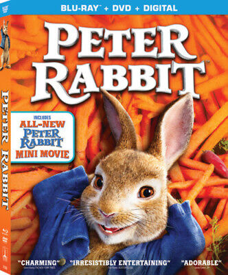 Peter Rabbit [New Blu-ray] With DVD, Widescreen, 2 Pack, Ac-3/Dolby Digital, D