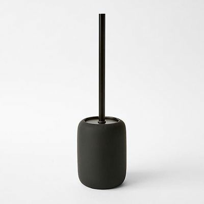 NEW Matt Black Toilet Brush Holder