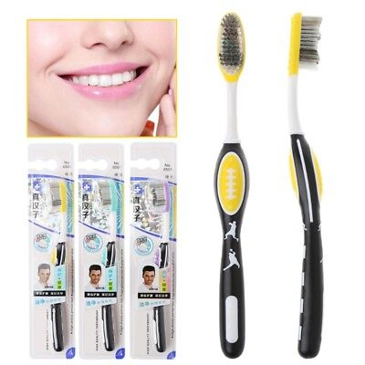 Hard bristles Toothbrush for Men Tooth Brush Oral Care Remove smoke stains