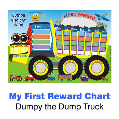 Dumpy & the Gang My First Reward Chart Magnetic with matching Stickers & Pen