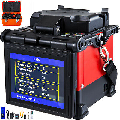 FTTH Fiber Optic Splicing Machine Optical Fiber Fusion Splicer DHL Free Shipping