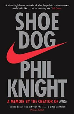 Shoe Dog by Phil Knight New Paperback Book