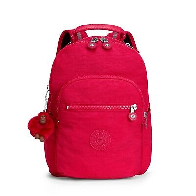 ba22a041f47 KIPLING SEOUL GO S Small Backpack TRUE PINK - RRP £79 - EUR 54
