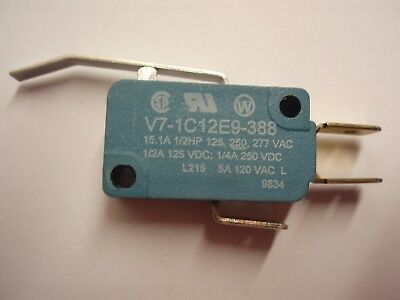 Micro Switch V7 Premium Miniature Basic Micro Switch With Lever. V7-1C12E9-388