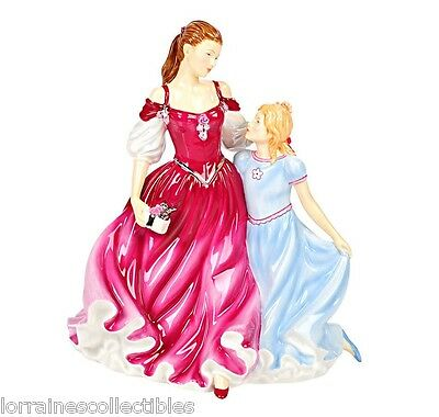 """Royal Doulton Enduring Love Limited Edition 9"""" Bone China Figurine DOUBLE NEW"""