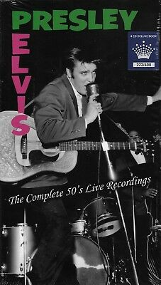 Elvis Presley - The Complete 50's Live Rec.  [ 4-CD Box Set Majesty 222 / 400 ]