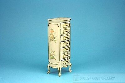Chest Of Drawers From The Deluxe Range, Dolls House Miniature Furniture