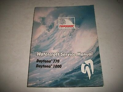1997 Tigershark Watercraft Service Manual Monte Carlo 770 Monte Carlo 1000