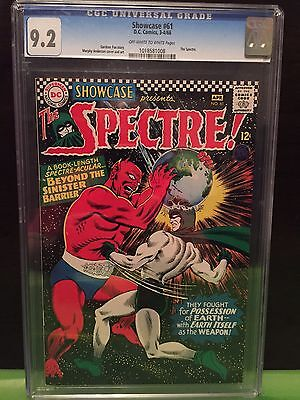 SHOWCASE #61 CGC NM- 9.2; OW-W; 2nd S.A. Spectre; classic cover!