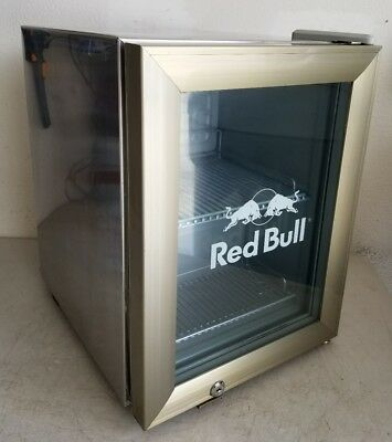*LOCAL PICKUP ONLY* Red Bull Counter Top Small Mini Fridge Refrigerator *Works*