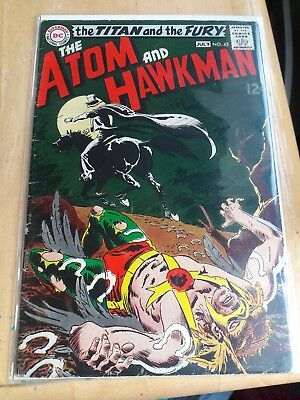 DC Comics The Atom and Hawkman #43 Silver Age The Titan and the Fury