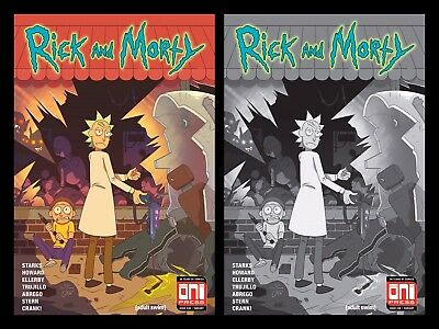 Rick And Morty 38 Walking Dead 1 Variant Set Pickle Cartoon Network 500 Made New