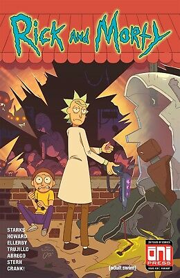 Rick And Morty 38 Walking Dead 1 Variant Oni Press Cartoon Network 1500 Made New