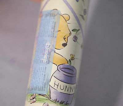 Disney Winnie The Pooh Prepasted Wallpaper border 5 Yards Nursery Children Decor