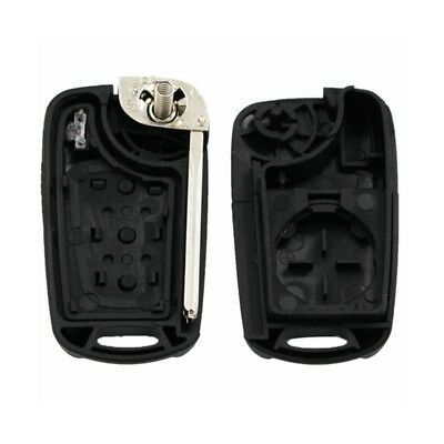 Remote Key Shell Flip Folding Key Case Fob 3 Buttons for KIA Picanto Replacement