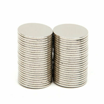 10/50/100Pcs Strong Round Neodymium Rare Earth Magnets Disc N50 15x1mm