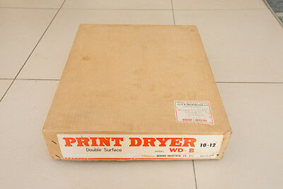 Mirano Fibre-based print dryer 10x12 inch double sided - Ferrotyping