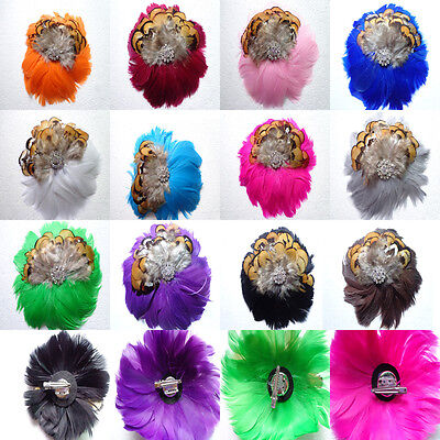 Free shipping, 1 PC beautiful headdress flower adornment, choose color