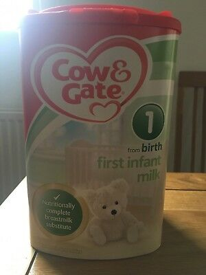 Cow & Gate First Infant Milk 1 From Birth Onwards 900g ****COLLECT ONLY