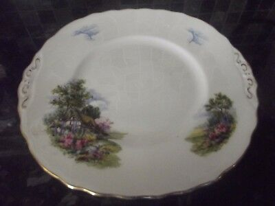royal vale homestead cottage garden cake/sandwich plate