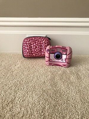 Fisher Price Pink Camera w/ Case