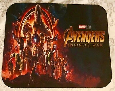 AVENGERS INFINITY WARS MARVEL Anti Slip Ultra Thin PC Gamer Pictorial Mouse Pads