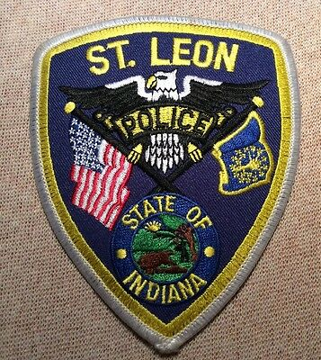 IN St. Leon Indiana Police Patch