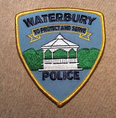 VT Waterbury Vermont Police Patch