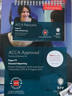 ACCA F7 Financial Reporting: Practice and Revision Kit by BPP Learning Media...