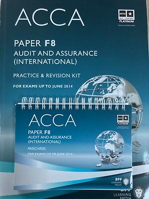 ACCA F8 Audit and Assurance: Practice and Revision Kit by BPP Learning Media...