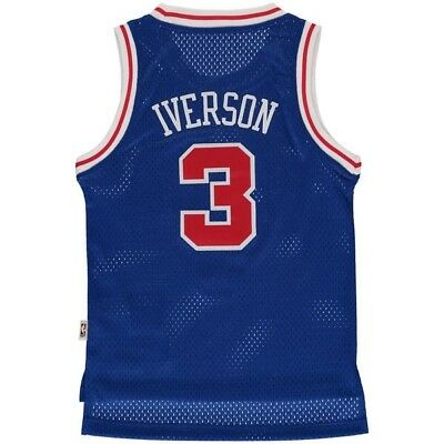 online store bccca a40ba NBA CHAMPION PHILADELPHIA Sixers Allen Iverson 76ers jersey Size Youth Large