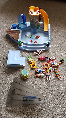 Playmobil Swimming Pool With Water Slide (originally 4858)   Mixed Up