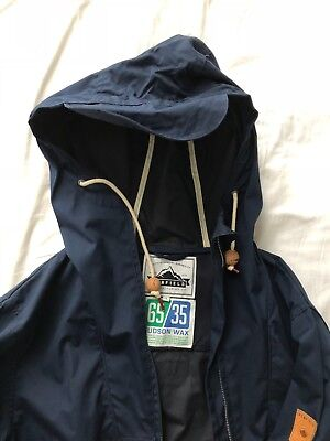 Men's Penfield Gibson Hooded Jacket in Navy Size Small