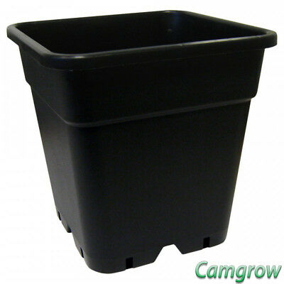 Square Pots 18 Litre for Soil / Coco - Hydroponics