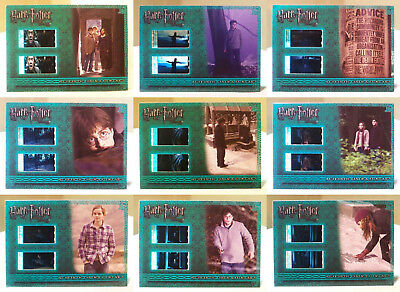 Harry Potter Deathly Hallows part 1 cinema filmcard 9 film card cel set CFC1-9