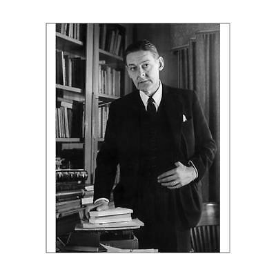 "10""x8"" (25x20cm) Print of TS Eliot from"