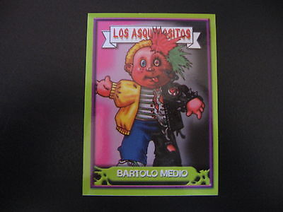 Garbage Pail Kids Los Asquerositos 10 Split KIT/Mixed-Up MITCH OS2 2004