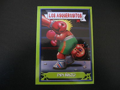 Garbage Pail Kids Los Asquerositos 44 ROCCO Socko/Destroyed BOYD OS14 2004