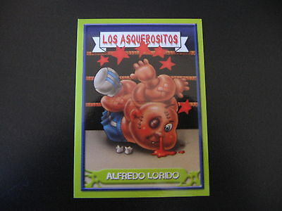 Garbage Pail Kids Los Asquerositos 46 DREW Blood/Bustin' DUSTIN OS3 2004