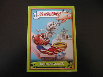 Garbage Pail Kids Los Asquerositos 67 Dental Hy GENE/RUDY Canal OS11 2004