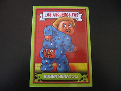Garbage Pail Kids Los Asquerositos #99 Trap DORA/Rear View MYRA OS9 2004