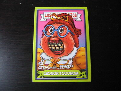 Garbage Pail Kids Los Asquerositos #108 Ghastly ASHLEY/Acne AMY OS2 2004