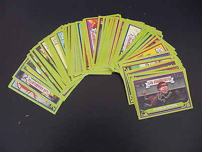 Garbage Pail Kids Los Asquerositos 85 Pack Fresh Stickers 2004 + Empty Wrappers