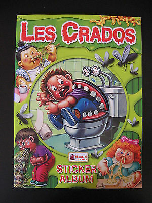 Garbage Pail Kids Les Crados New Empty Album With Poster 2004 Merlin